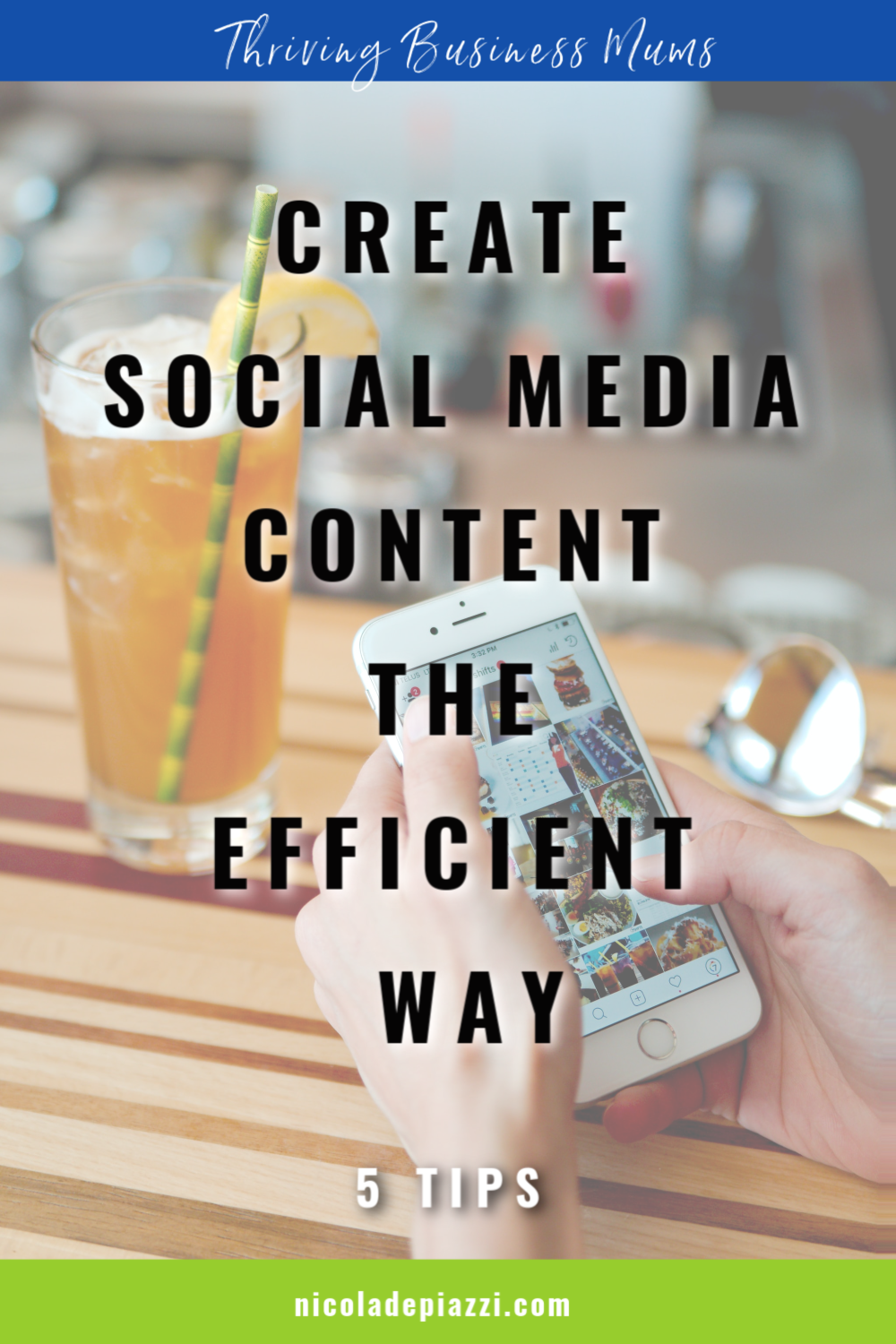 EFFICIENT CONTENT FOR SOCIAL MEDIA