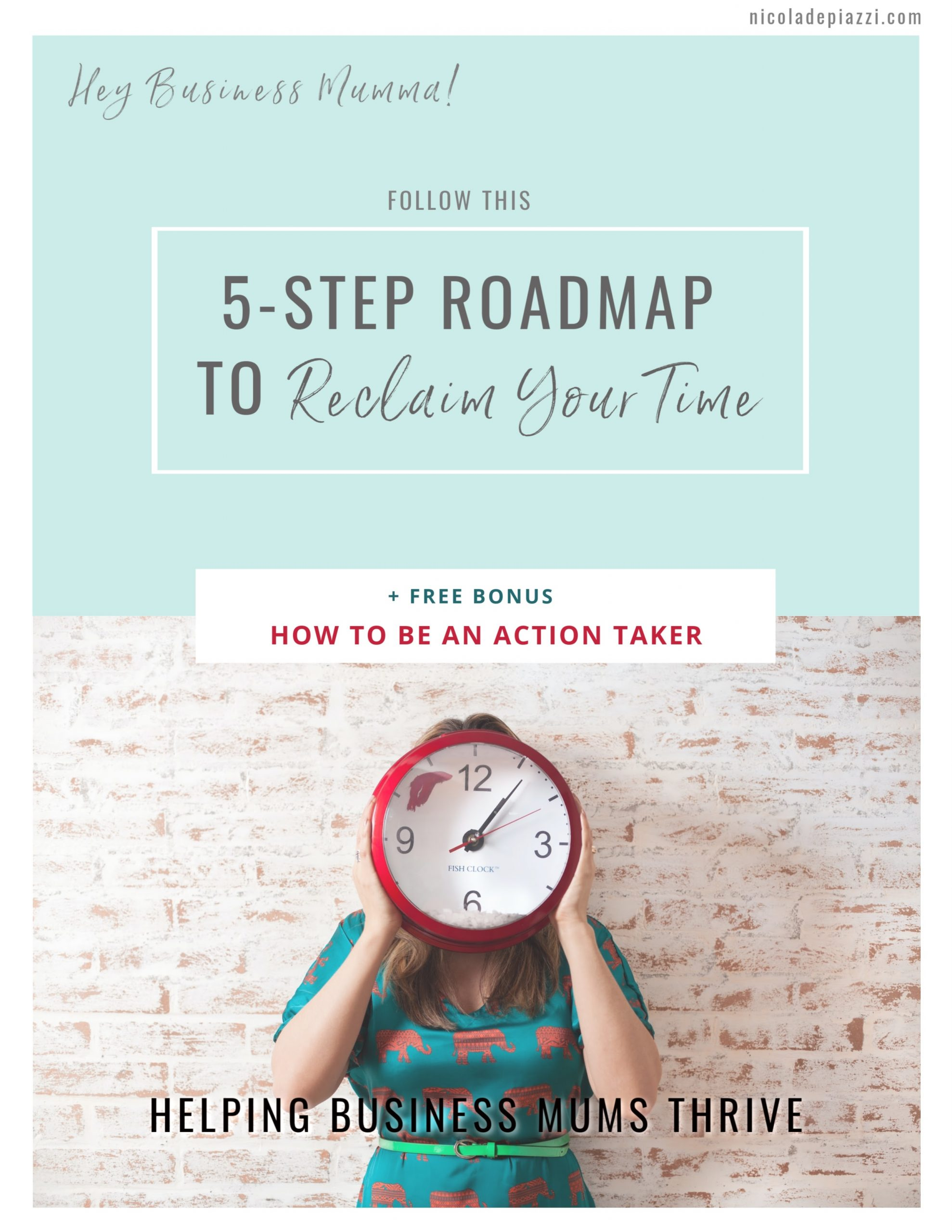 Roadmap to Reclaim Your Time