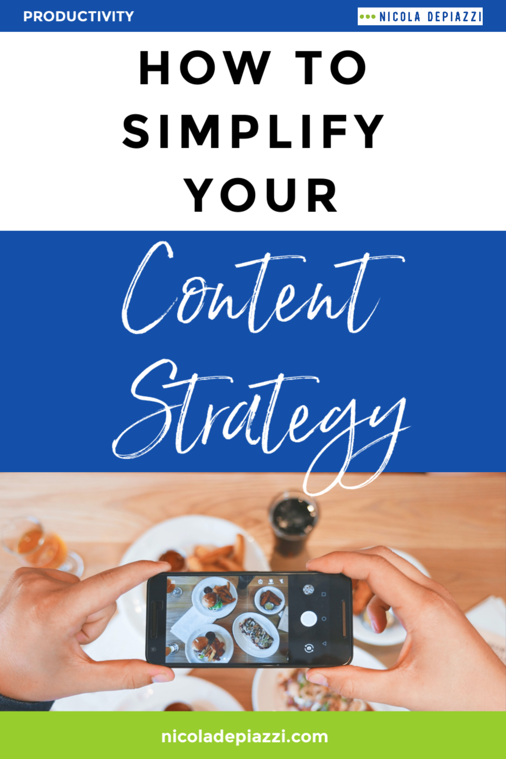how to simplify your content strategy