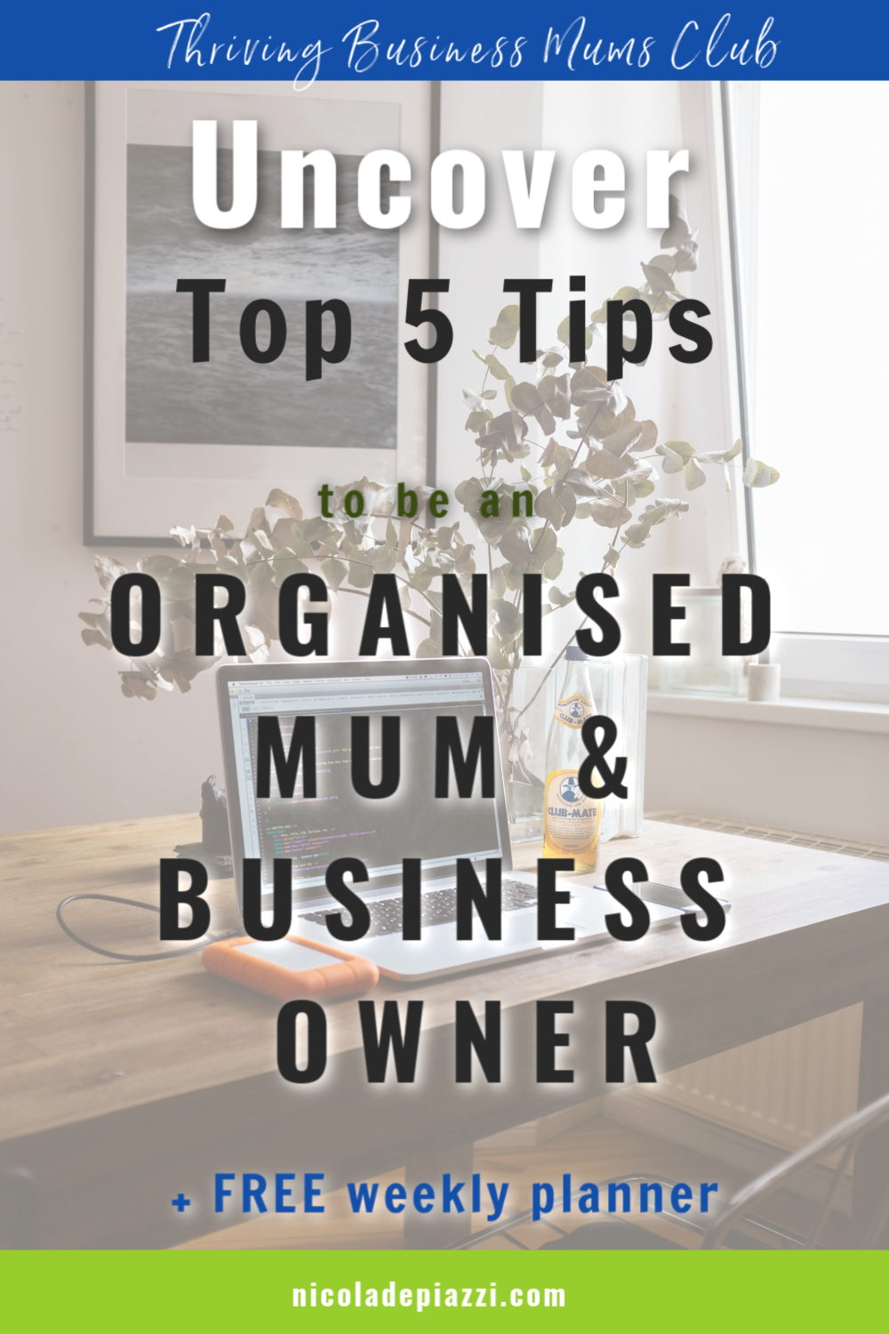 be an organised mum & business owner