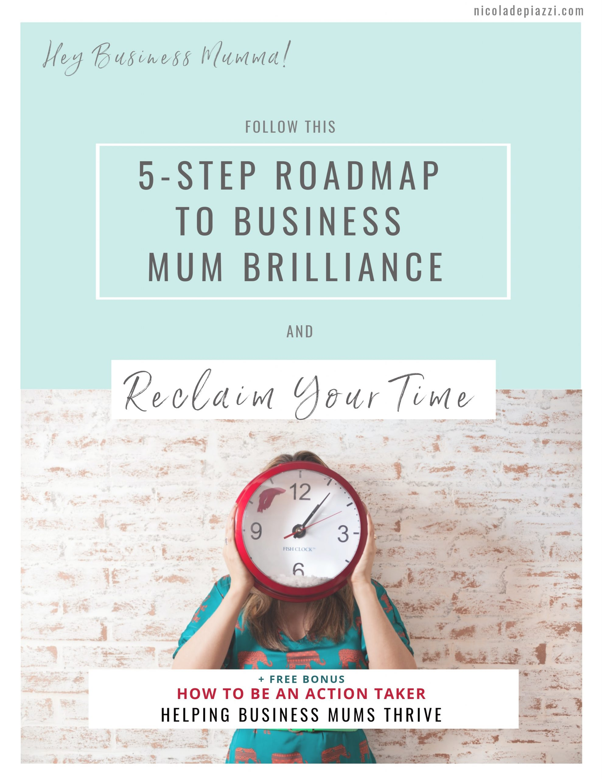 5 Steps to Business Mum Brilliance