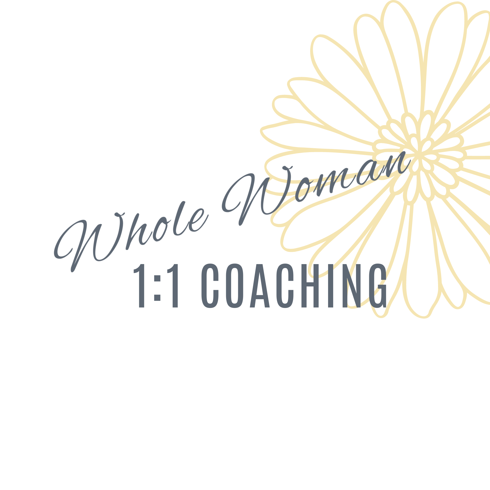 The Whole Woman 1:1 Business Coaching