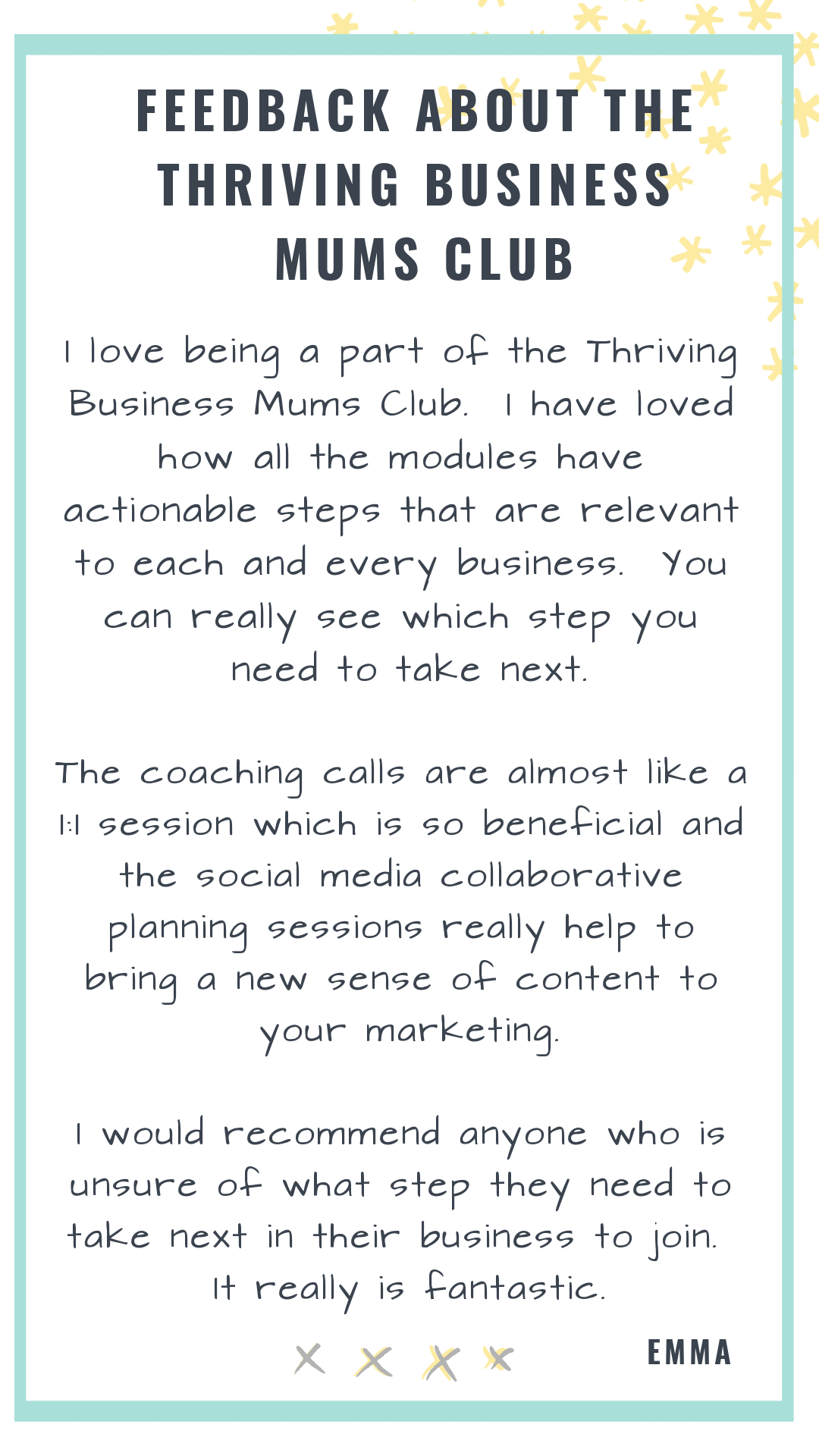 thriving business mums club